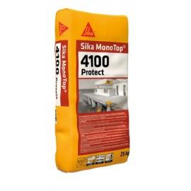 SIKA MONOTOP 4100 PROTECT - Mortero R4 para la reparación, protección e impermeabilización de estructuras de hormigón
