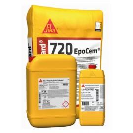 SIKAGARD 720 EPOCEM - Micromortero de tres componentes a base de cemento y epoxi para sellado de superficies