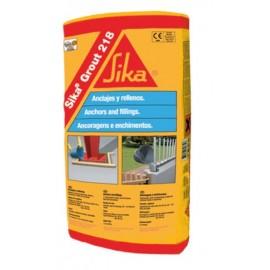 SIKAGROUT 218 - Mortero monocomponente, fluido de retracción compensada a base de cemento