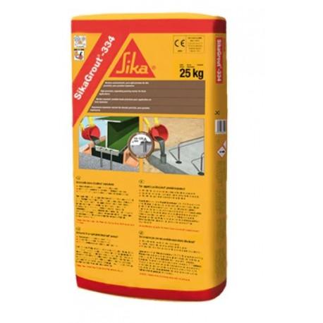 SIKAGROUT 334 - Mortero expansivo de baja retracción para altas solicitaciones con reducción de huella de carbono