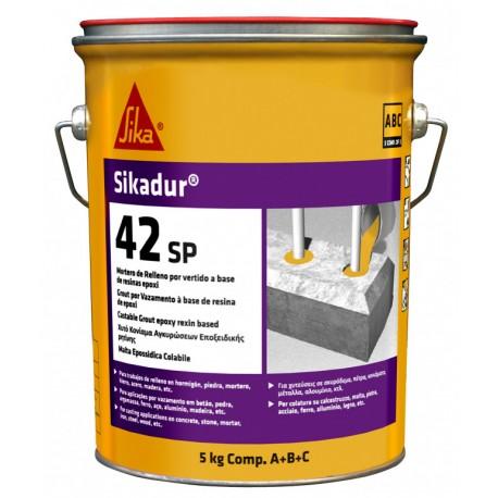 SIKADUR 42 SP - Mortero autonivelante a base de resinas epoxi de tres componentes