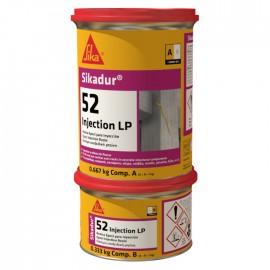 SIKADUR 52 INJECTION LP - Resina epoxi para inyecciones, de dos componentes y baja viscosidad.