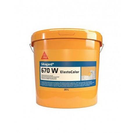 SIKAGARD 670 W ELASTOCOLOR - Revestimiento de protección para el hormigón