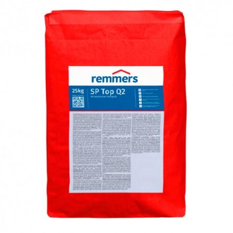 SP TOP Q2 Yeso de capa fina resistente al agua, intemperie y heladas (Remmers)