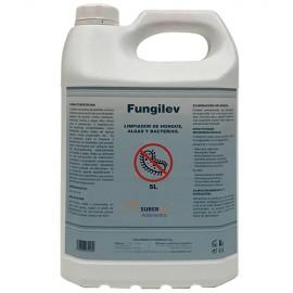 FUNGILEV - Desinfectante de amplio espectro contra bacterias, levaduras, mohos y algas