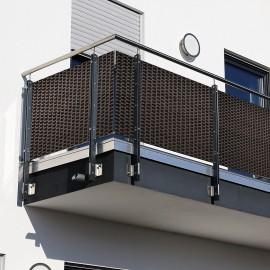 Panel de Rattan 19 x 255 cm para Proteger del Viento y dar Privacidad
