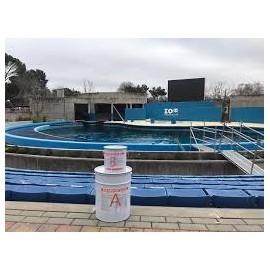 MAXURETHANE ® POOL - Revestimiento bicomponente de PU transparente en base agua para la protección y acabado de piscinas